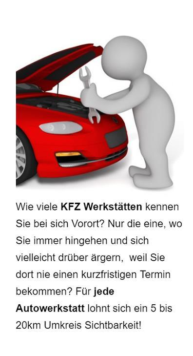 Autowerkstatt Online Marketing für 61200 Wölfersheim