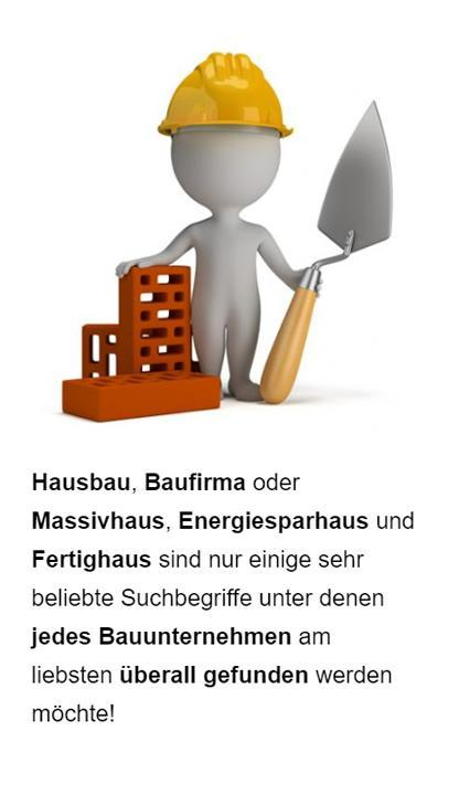 Baugewerbe SEO für  Berne