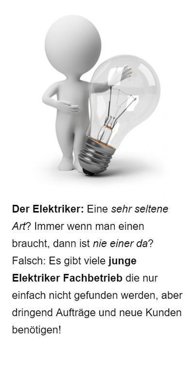 Elektriker Google Anzeigen für  Berne