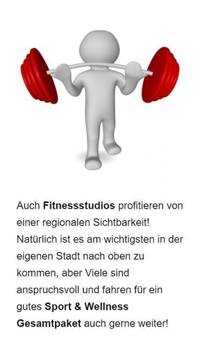 Fitnessstudio Googlewerbung in  Klingenberg