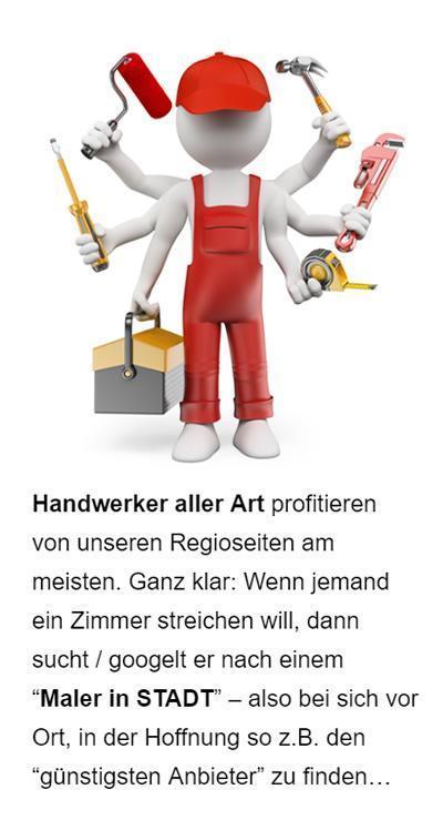 SEO für Handwerker für Bubenreuth