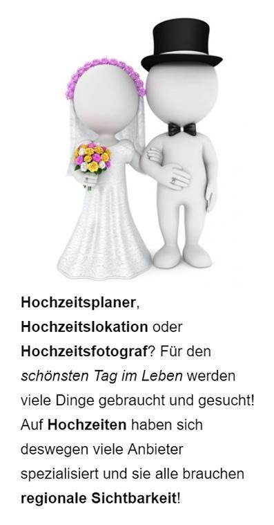 Hochzeitsservice Google Werbung aus 96146 Altendorf