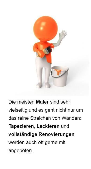Maler Web Marketing für Stelle