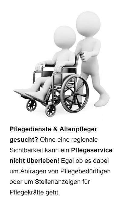 Pflegedienste Suchmaschinen Optimierung aus 91088 Bubenreuth