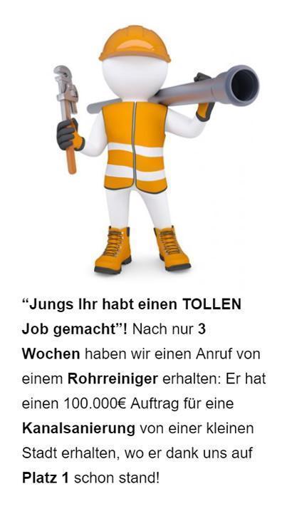 Rohrreinigung lokale Werbung in 31134 Hildesheim