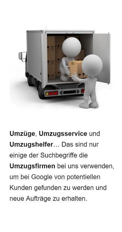 SEO Umzugsservice für Bubenreuth