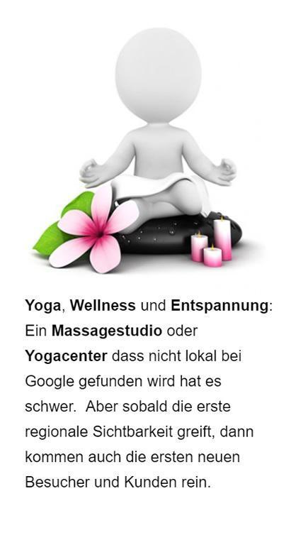 Yoga Wellness Online Marketing aus Stelle