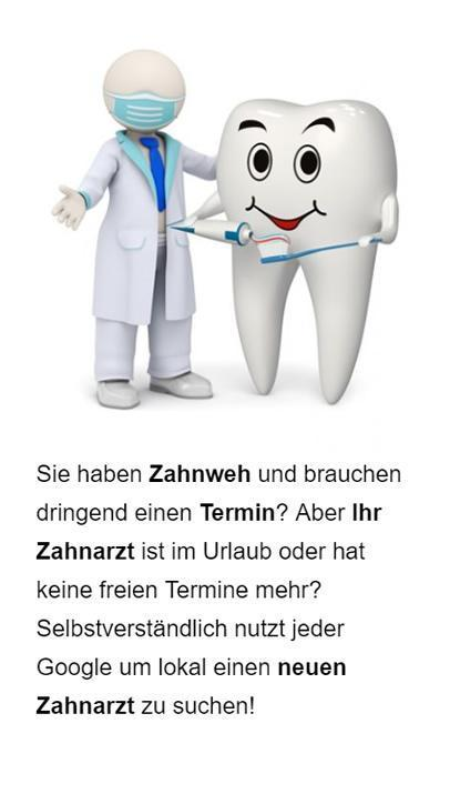 Zahnarztpraxis Marketing aus 74388 Talheim
