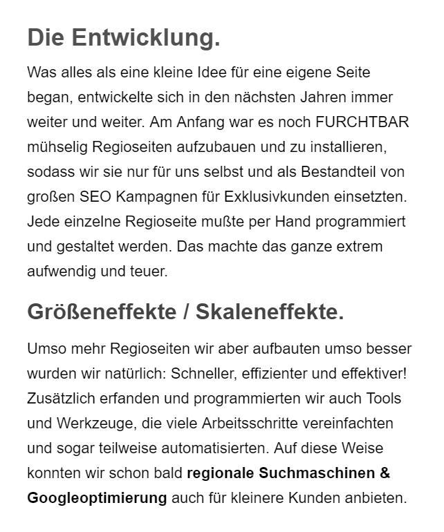 Günstige Suchmaschinenoptimierung aus 96146 Altendorf