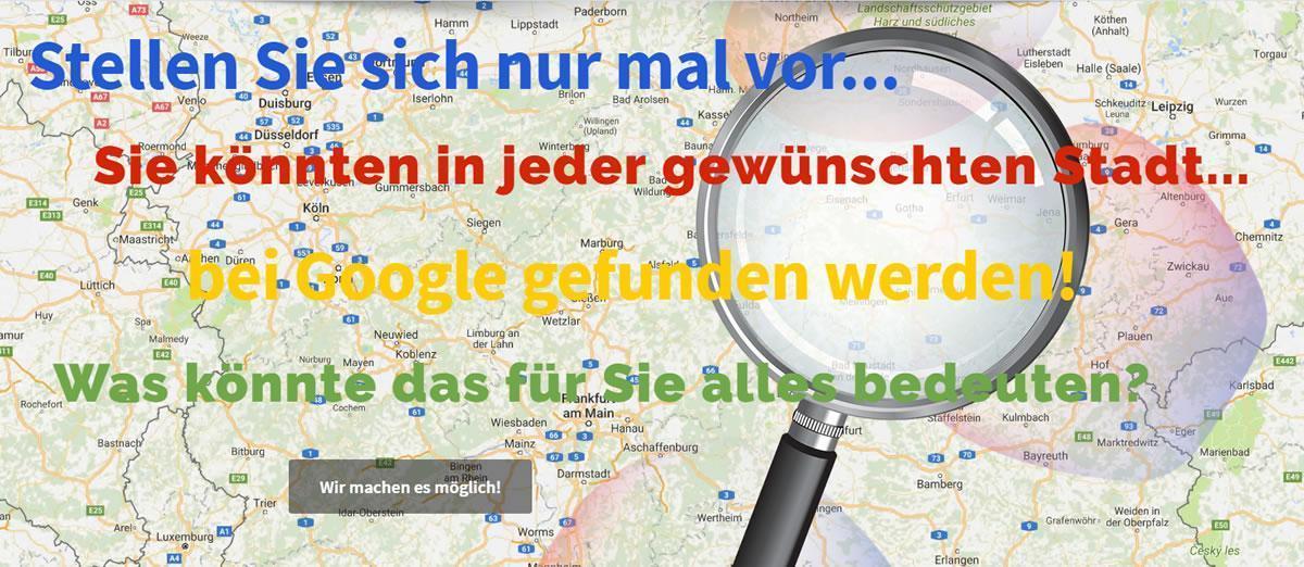 Regioseiten Lentföhrden - Onlinemarketing Agentur für lokale Googleoptimierung